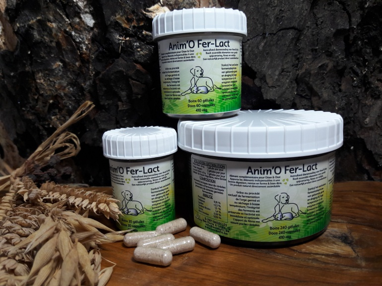 Anim'O Fer-Lact (30-60-240 gélules)